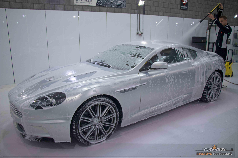 borstel auto wassen